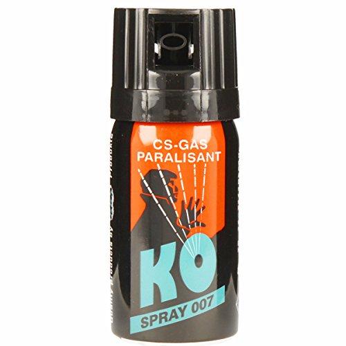 KO Spray 007 CS-GAS PARALISANT zur selbstverteidigung 40ml