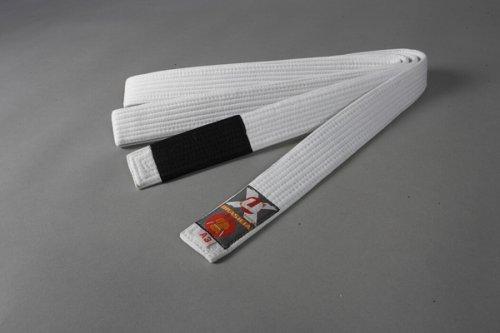 Ju-Sports Brazilian Jiu-Jitsu Gürtel, Weiß, A1 (275)
