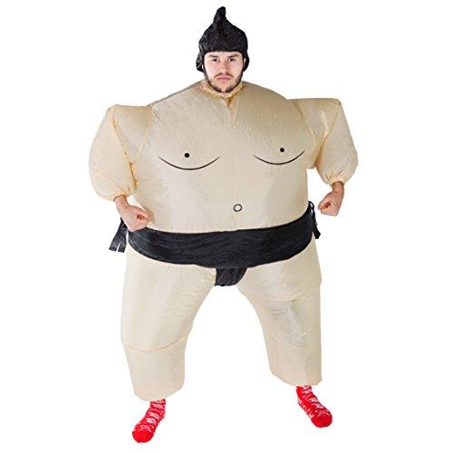 Bodysocks® Aufblasbares Sumo Kostüm für Erwachsene