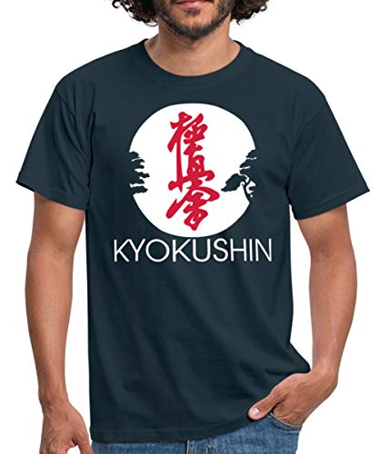 Kyokushin Männer T-Shirt, XXL, Navy