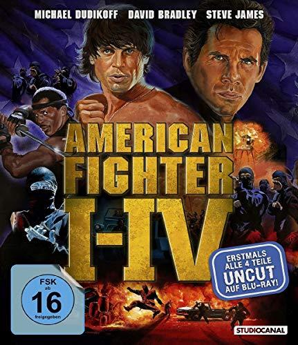 American Fighter 1-4 uncut [Blu-ray, 4 Discs]