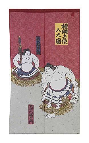 Made in Japan Noren-Vorhang%¶ÝÏ% Motiv Sumo Yokozuna Ring%¶ÝÏ% in Strasburg