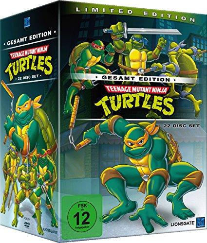 Teenage Mutant Ninja Turtles [Limited Edition] [Gesamt Edition] [22 Disc Set]