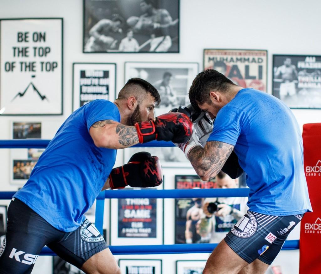 MMA Boxtraining