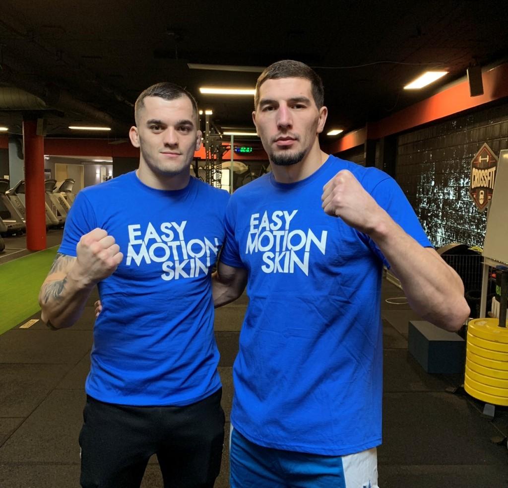 MMA Fighters Roberto Soldic und Abus Magomedov