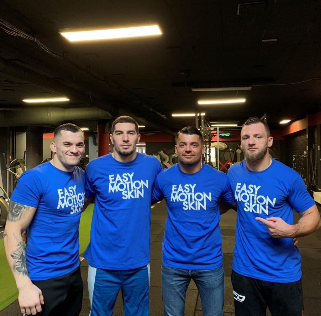 MMA Fighters Roberto Soldic - Abus Magomedov - Ivan Dijakovic - David Zawada
